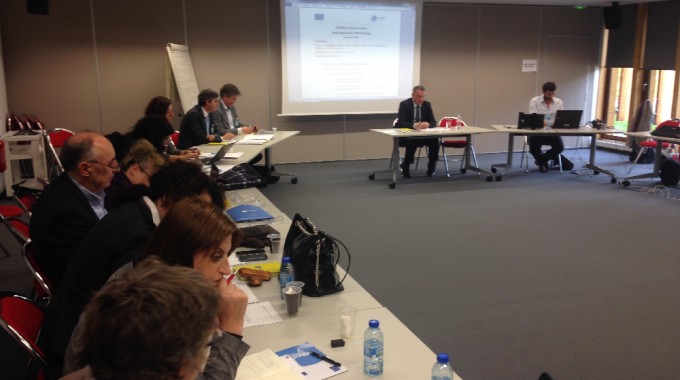 Meeting of the Forum of training centers – Paris, April 20, 2015