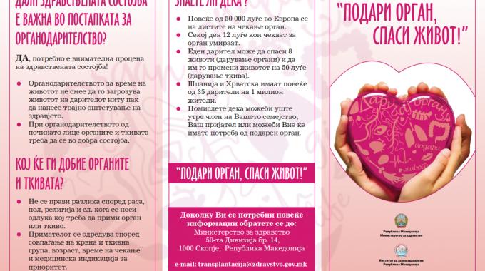 """Donate organs, save life"""