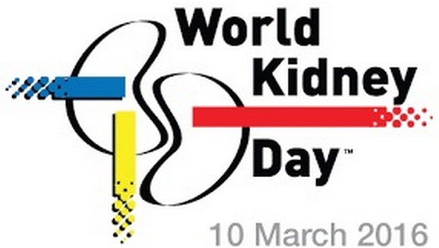 World kidney day – March 10, 2016