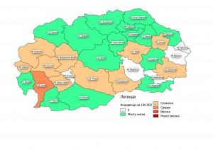 мапа 6та недела