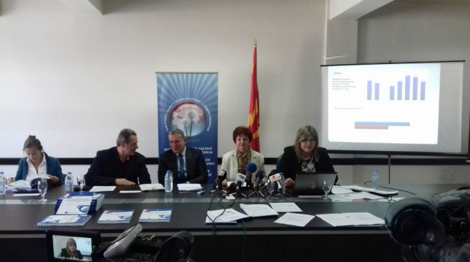 PRESS CONFERENCE: PROMOTION OF RESEARCH REPORT USE OF PSYCHOACTIVE SUBSTANCES AMONG THE GENERAL POPULATION  IN THE REPUBLIC OF MACEDONIA,2017