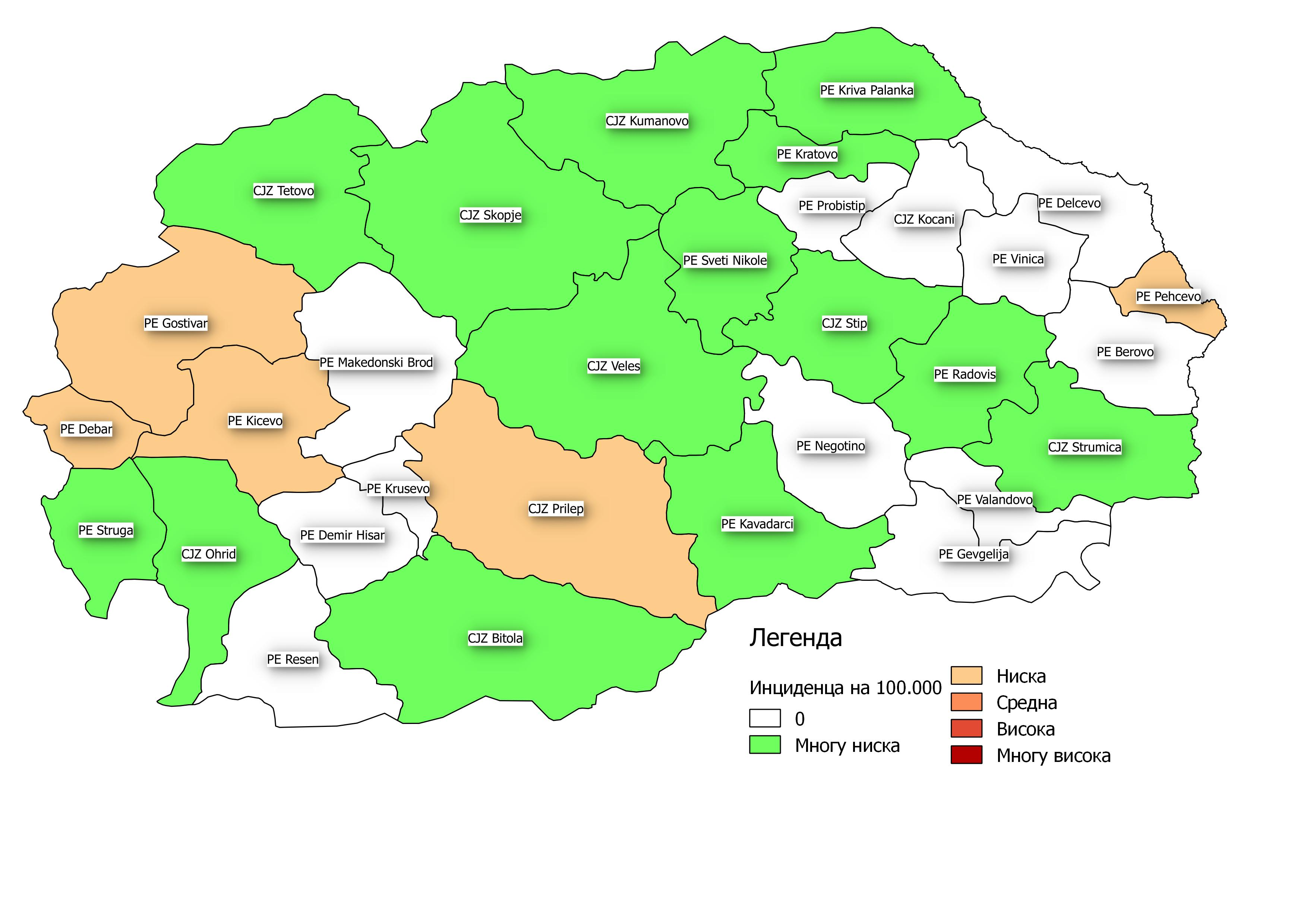 мапа 2 недела